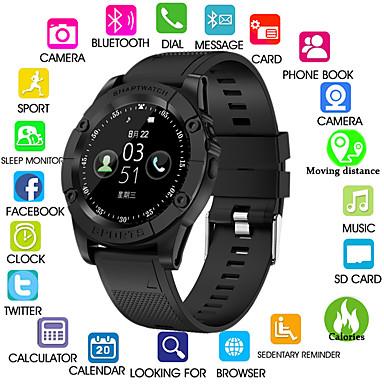 Kimlink SW98 Miehet Smartwatch Android Bluetooth Kosketusnäyttö Poltetut kalorit Handsfree puhelut Kamera Etäseuranta Askelmittari Puhelumuistutus Activity Tracker Sleep Tracker sedentaarisia
