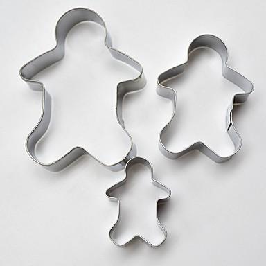 2pcs Ruostumaton teräs Uutuusvälineet keittiöön jälkiruoka Työkalut Bakeware-työkalut