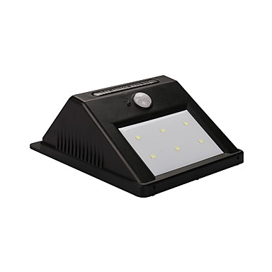 gmy® 1pc 0,55 w mur solaire moniteur de détection de mouvement solaire blanc froid 5,5 v éclairage extérieur cour jardin 6 perles led