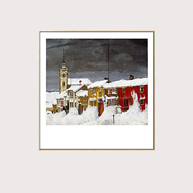 abordables Toiles-Imprimé Impressions sur toile roulées - Niches Classique Art Prints