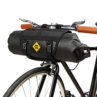 abordables Sacoches de Vélo-B-SOUL 6 L Sacoche de Guidon de Vélo Etanche Portable Durable Sac de Vélo TPU Cuir Térylène Sac de Cyclisme Sacoche de Vélo Cyclisme Vélo de Route Vélo tout terrain / VTT Extérieur