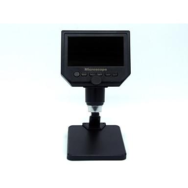 billige Kikkerter og teleskop-G600S 600 X Forstørrelsesglass Mikroskop Frittstående Justerbar Plast og Metall