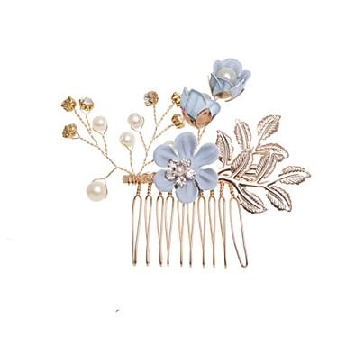 abordables Coiffes-Alliage avec Fleur 1 pièce Mariage / Occasion spéciale Casque