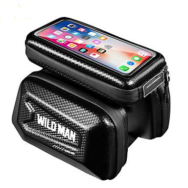 abordables Sacoches de Vélo-Sac de téléphone portable Sacoche de Guidon de Vélo 6.2 pouce Cyclisme pour iPhone 8 Plus / 7 Plus / 6S Plus / 6 Plus iPhone X Noir Cyclisme / Vélo