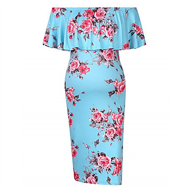 bd7078fadbb5 Χαμηλού Κόστους Ρούχα Εγκυμοσύνης-Γυναικεία Μπόχο Κομψό στυλ street Γραμμή  Α Εφαρμοστό Σε γραμμή Α