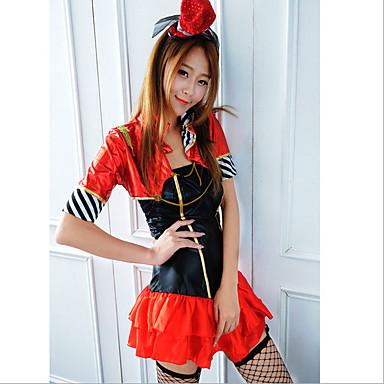 Vestito Burlesque Da Costumi Cosplay Pagliaccio Serata Circo vnwmN80