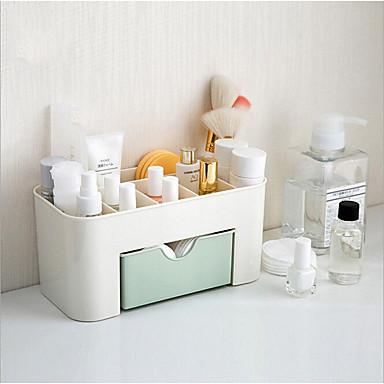 Недорогие Хранение и организация-Коробка для хранения пластик Многослойный 1 коробка для хранения Сумки для хранения домашних хозяйств