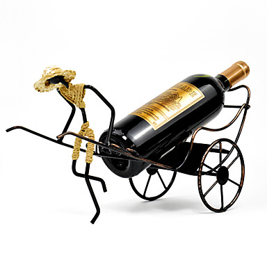 povoljno Oprema za bar-1pc Kovano željezo Stalci za vino Stalci za vino Klasični Vino Pribor za barware