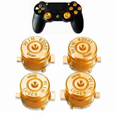 Game Controller Thumb Stick Grips 4 Universal Metal Bullet