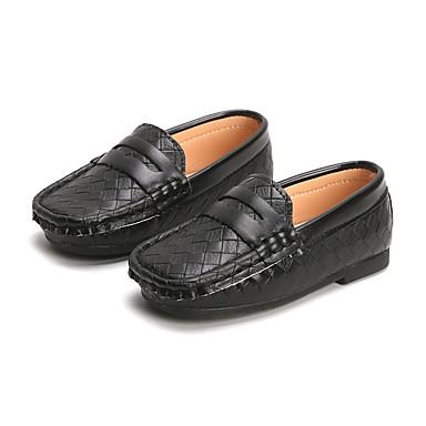 099359b5a8 Para Meninos   Para Meninas Sapatos Couro Ecológico Primavera   Outono Mocassim  Mocassins e Slip-Ons para Branco   Preto   Marron