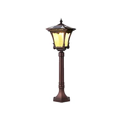 billige Utendørsbelysning-QINGMING® 1pc 3 W plen Lights Vanntett / Solar / Lysstyring Varm hvit / Kjølig hvit 3.7 V Utendørsbelysning / Courtyard / Have 1 LED perler
