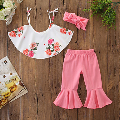 aa60d64bf cheap Baby & Toddler Girl-Baby Girls' Active / Basic Floral