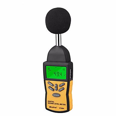 voordelige Test-, meet- & inspectieapparatuur-officiële holdpeak hp-882a professionele mini digitale geluid geluidsniveaumeter decibel monitoring indicator tester 30 db tot 130 db