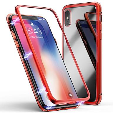 billige iPhone-etuier-etui til Apple iPhone 6 / iPhone xs max gennemsigtigt bagcover gennemsigtigt hårdt hærdet glas til iphone 6 / iphone 6 plus / iphone 6s