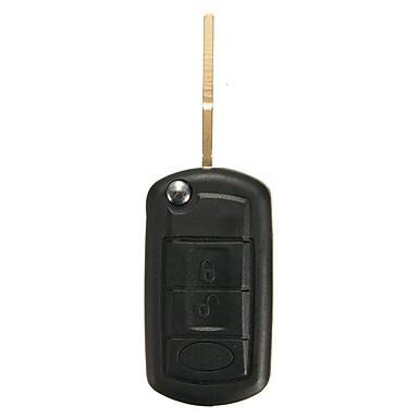 voordelige Autohangers & Ornamenten-3-knops opvouwbare afstandsbediening sleutelhanger 315MHz ID46 chip voor Land Rover Range Rover 02-06