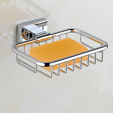 סבון כלים & מחזיקים יצירתי עכשווי פליז 1pc מותקן על הקיר