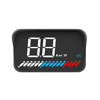 voordelige Automatisch Electronica-m7 head-up display led kleurenscherm hud gps snelheid obd2 foutcode eliminatie auto diagnostisch hulpmiddel