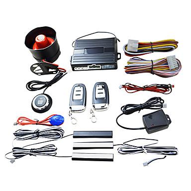 tanie Alarmy samochodowe-smart key pke alarm samochodowy silnik stop start push system czujnik wstrząsów