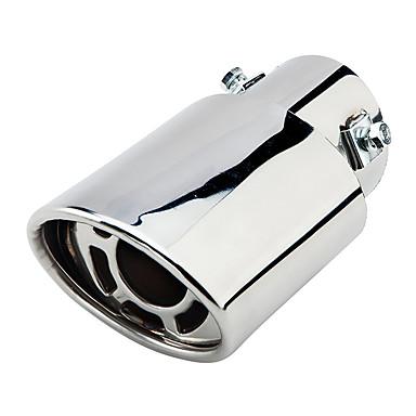 קוטר 63mm קוטר נירוסטה מכונית פליטה צעיף צינור שונה זנב הגרון