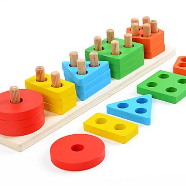אבני בניין 1 pcs יצירתי תואם Legoing דגם גיאומטרי אינטראקציה בין הורים לילד כל צעצועים מתנות