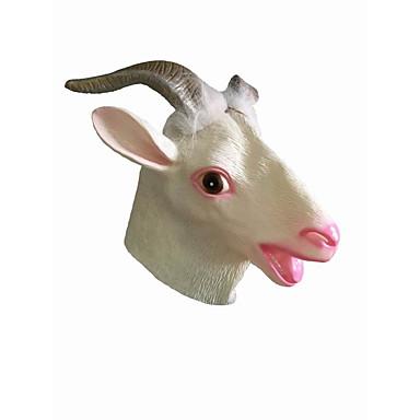 voordelige Maskers voor de feestdagen-Halloweenmaskers Dierenmasker Liima Schaap Horrorthema Volwassenen Unisex Jongens Meisjes