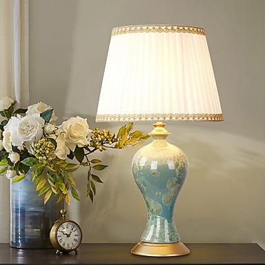 מודרני עכשווי עיצוב חדש מנורת שולחן עבור חדר שינה / משרד קרמיקה 220V