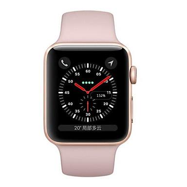 Apple Apple Watch Series 3 GPS חכמים שעונים iOS משופץ Blootooth עמיד במים מסך מגע GPS מוניטור קצב לב כלוריות שנשרפו טיימר שעון עצר מד צעדים מזכיר שיחות מד פעילות