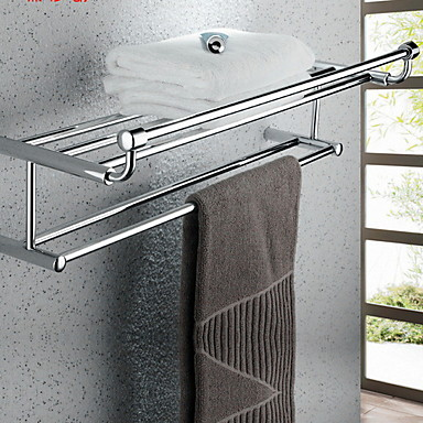 צדף לחדר האמבטיה יצירתי עכשווי אלומיניום 1pc מותקן על הקיר