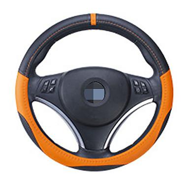 voordelige Auto-interieur accessoires-38 cm diameter integratie naadloze auto stuurhoeshoes voor universele toepassing