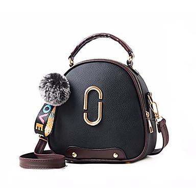 povoljno Dječje torbe-Žene / Djevojčice Patent-zatvarač Torba preko ramena PU Jedna barva Dark Blue / Sive boje / Lila-roza