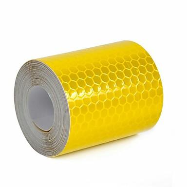 3mx5cm צבעוניים רפלקטיביים בטיחות אזהרה קלטת סרט קלטת מדבקה 3m