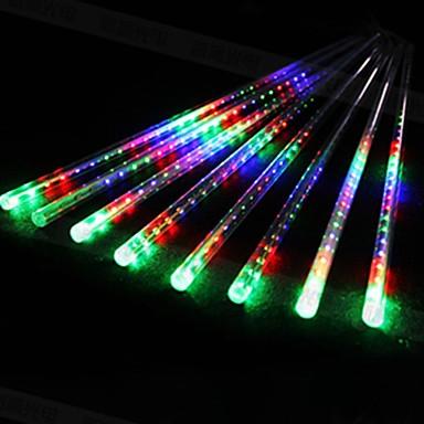 billige LED Strip Lamper-LOENDE 0.5m Faste LED-lysstriper 240 LED Dip Led Hvit / Blå Fest / Dekorativ / Bryllup 100-240 V
