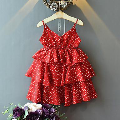 c7e797748 cheap Girls' Dresses-Kids Girls' Sweet Street chic Polka