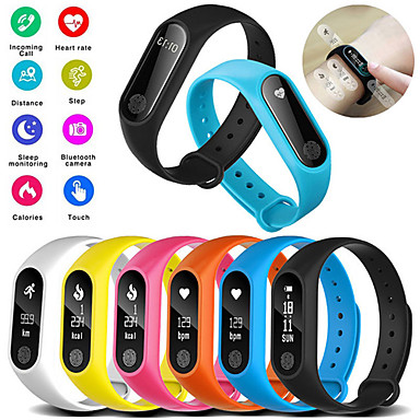 hesapli Akıllı Bileklikler-m2 akıllı bilezik izle su geçirmez spor kalp hızı monitörü smartband pedometre kalori uyku tracker bluetooth smart watch
