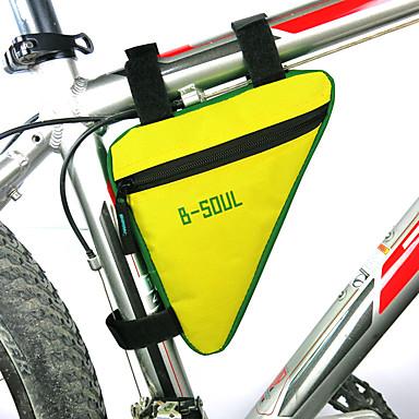 abordables Sacoches de Vélo-Sac Cadre Velo Cyclisme Sac de Vélo Tissu Oxford Sac de Cyclisme Sacoche de Vélo Cyclisme Vélo Cyclisme