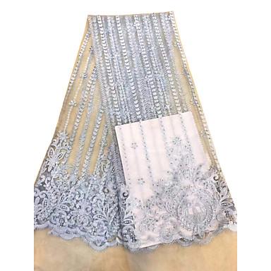 תחרה אפריקאית אחיד תבנית 125 cm רוחב בד ל אירועים מיוחדים נמכר דרך 5 יארד