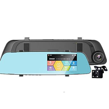 billige Bil-DVR-den nye hd dashcam har et 4,3 bakspeil med et omvendt bilde