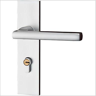 אירופאי שטח אלומיניום דלת לנעול חדר שינה פנימי דלת עץ דלת מכנית לנעול חומרה לנעול חומרה פנים הדלת לנעול פשוט
