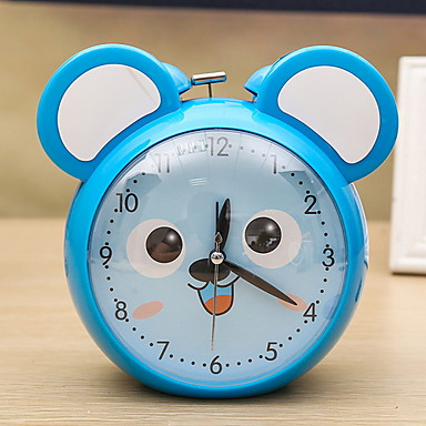 שעון, מודרני, מודרני, פלסטיק, עגול