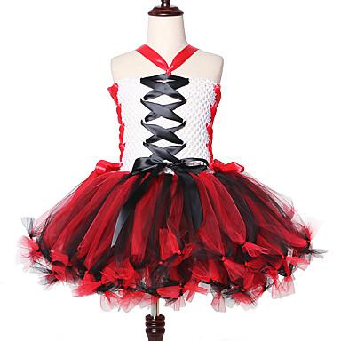 お買い得  女児 ドレス-吸血鬼ゾンビ女の子チュチュドレスハロウィン衣装怖いテーマカーニバルパーティー服