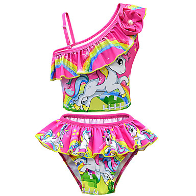 5f977f5ffe4ac cheap Girls' Swimwear-Kids Toddler Girls' Active Cute Print