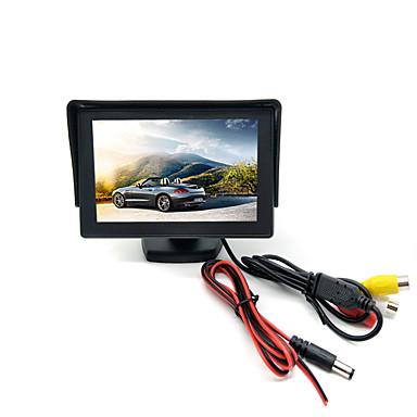 voordelige Automatisch Electronica-x01 4.3 inch lcd bedrade 4.3 inch auto achteruitrijcamera lcd-scherm / multifunctionele display voor auto
