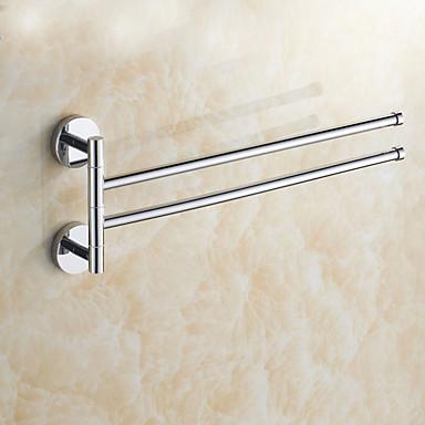 Havlu Çubuğu Yaratıcı Çağdaş Pirinç 1pc - Banyo Duvara Monte Edilmiş