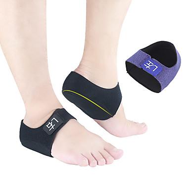 cheap Shoes Accessories-2pcs Warm / Shock Absorption Insole & Inserts Cloth / Gel Heel All Seasons Unisex Black / Blue