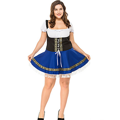 Kasım Festivali üstü dar altı geniş elbise Trachtenkleider Kadın's Bavyera Havuz Elbise