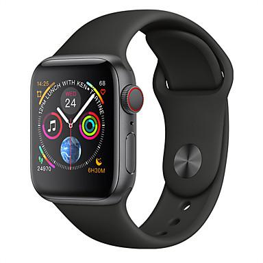 halpa Älykellot-w54 älykäs kello android 4.4 bt 4.0 tracker monitor -tuki ilmoittaa ja sykemittari yhteensopiva omena- / samsung- / android-puhelimet