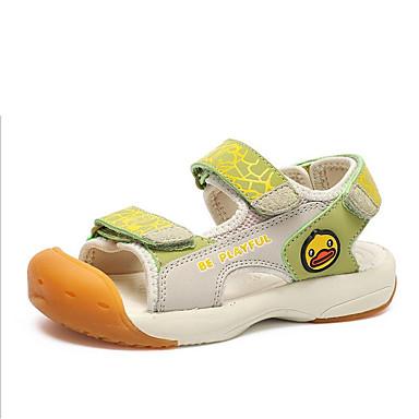 baratos Sapatos de Criança-Para Meninos Sintéticos Sandálias Criança (9m-4ys) / Little Kids (4-7 anos) Conforto Azul Escuro / Amarelo / Cinzento Claro Verão