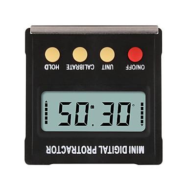 voordelige Test-, meet- & inspectieapparatuur-360 graden mini digitale gradenboog inclinometer elektronische niveau doos magnetische base meetinstrumenten