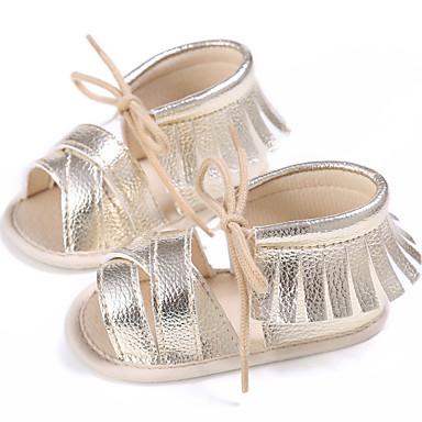 povoljno Dječje cipele-Djevojčice PU Sandale Dojenčadi (0-9m) / Dijete (9m-4ys) Cipele za bebe Pink / Fuksija / Navy Plava Ljeto