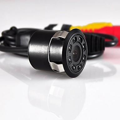 voordelige Automatisch Electronica-Cheshitong auto achteruitrijcamera met 8 led-zaklampen en mist parkeercamera 170 graden groothoek voor auto